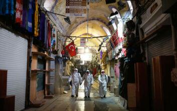 Κορονοϊός: Πάνω από 1.000 οι νεκροί στην Τουρκία - Απαγόρευση κυκλοφορίας σε Κωνσταντινούπολη και άλλες 30 πόλεις