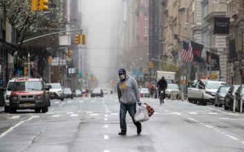 Κορονοϊός στη Νέα Υόρκη: Έκκληση στους πολίτες να καλύπτουν το πρόσωπο όταν βγαίνουν από το σπίτι