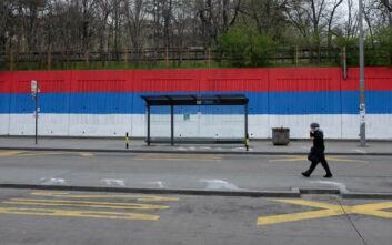 Γενική απαγόρευση κυκλοφορίας στο Βελιγράδι το Σαββατοκύριακο