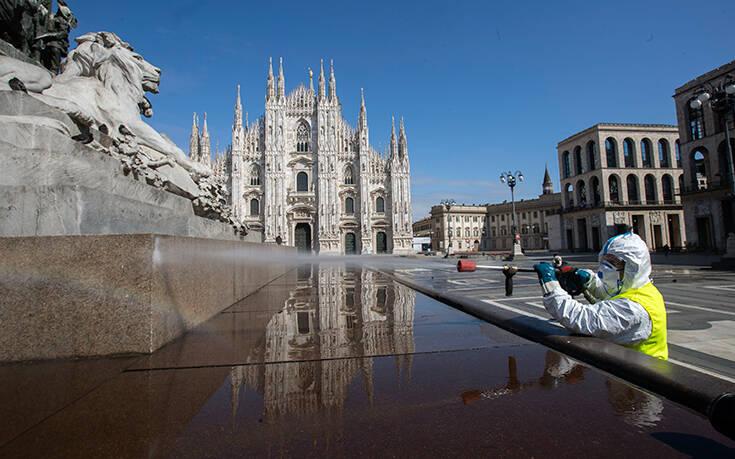Ιταλία – Κορονοϊός: 433 νεκροί το τελευταίο 24ωρο, 23.660 συνολικά