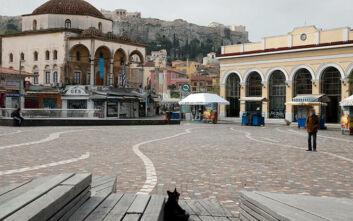 Τα μέτρα για τον κορονοϊό «μείωσαν» τη ρύπανση της ατμόσφαιρας της Αθήνας