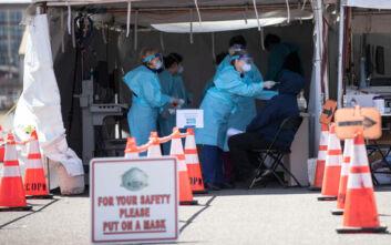 Κορονοϊός: Σχεδόν 50.000 πλέον οι θάνατοι στις ΗΠΑ