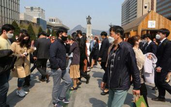 Κορονοϊός: Λιγότερα από 50 νέα κρούσματα στη Νότια Κορέα, για πρώτη φορά εδώ κι έναν μήνα