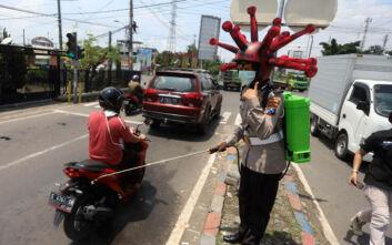 Τη μεγαλύτερη ημερήσια αύξηση στα κρούσματα κορονοϊού ανακοίνωσε η Ινδονησία