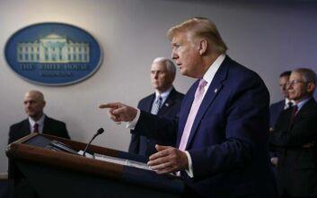 Τραμπ: Θα υπάρξουν πολλοί θάνατοι λόγω του κορονοϊού