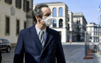 Ο περιφερειάρχης της Λομβαρδίας ζητά επιστροφή στην παραγωγική δραστηριότητα από 4 Μαΐου