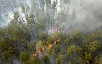 Δεν έχει ανιχνευθεί ραδιενέργεια στην ατμόσφαιρα της Ελλάδας μετά την πυρκαγιά στο Τσέρνομπιλ