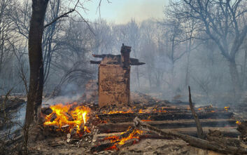 Τσερνόμπιλ: Νέος συναγερμός για 3 πύρινα μέτωπα και δυνατούς ανέμους