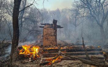 Τσέρνομπιλ: Υπό έλεγχο η φωτιά σήμερα - Αναφορές για αυξημένη ραδιενέργεια