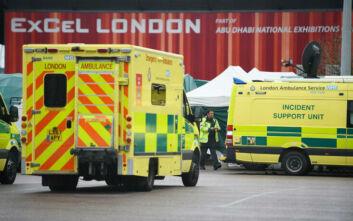 Κορονοϊός Βρετανία: Πρώτοι ασθενείς στο εκθεσιακό κέντρο που έγινε νοσοκομείο