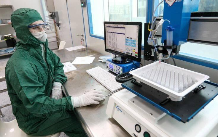 Το πρώτο ρωσικό τεστ ταχείας διάγνωσης του κορονοϊού θα πωλείται σύντομα στην Ευρώπη