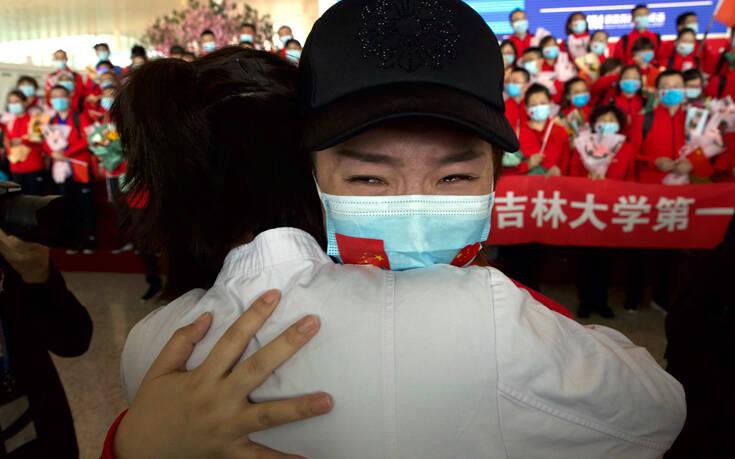 Κανένας θάνατος από κορονοϊό στην Κίνα – Μόλις τρία νέα κρούσματα, τα δύο εισαγόμενα