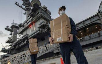 Κορονοϊός: Εντυπωσιακή αλλαγή στην υπόθεση του πλοιάρχου του αεροπλανοφόρου «Roosevelt»