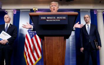 Επανεκκίνηση της οικονομίας των ΗΠΑ μέσα σε ένα ή δύο μήνες περιμένει ο Λευκός Οίκος