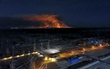 Τσέρνομπιλ: Ανησυχία μήπως οι φωτιές διασπείρουν ραδιενέργεια