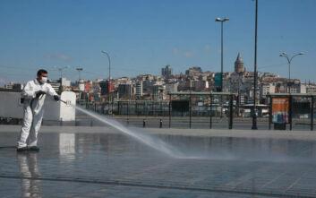 Μολύνθηκαν με κορονοϊό 433 υπάλληλοι του δήμου Κωνσταντινούπολης