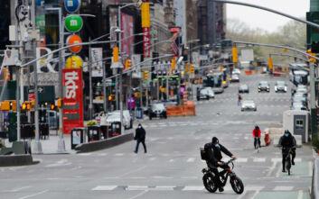 Η Νέα Υόρκη θέτει σε καραντίνα τους επισκέπτες από 16 πολιτείες