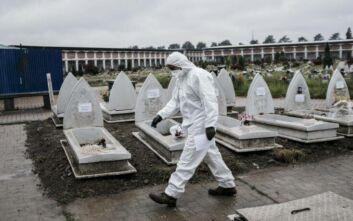 Κορονοϊός: Ξεκίνησε η ταφή των θυμάτων που δεν αναζητήθηκαν από οικείους τους στο Μιλάνο