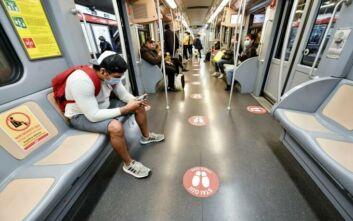 Iταλία - Κορονοϊός: Το μετρό στο Μιλάνο θα συντονίζει την κοινωνική αποστασιοποίηση
