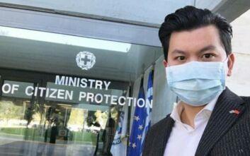 Ο Ορέστης Τσανγκ βοηθά στη μάχη κατά του κορονοϊού με μια δωρεά
