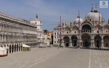 Η Βενετία εντελώς έρημη στην εποχή του κορονοϊού