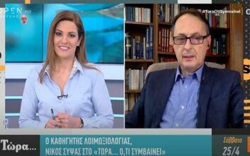 Καθηγητής Σύψας - Κορονοϊός: Πώς θα γίνονται οι γάμοι και οι βαπτίσεις το καλοκαίρι στην Ελλάδα