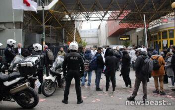 Ένταση στον Ευαγγελισμό μεταξύ εργαζομένων και αστυνομικών