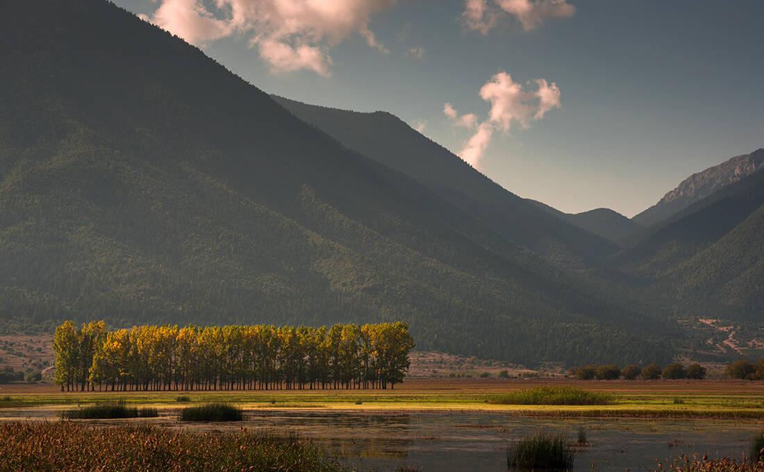 Η μυθική λίμνη της Κορινθίας