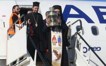 Έφτασε στην Αθήνα το Άγιο Φως