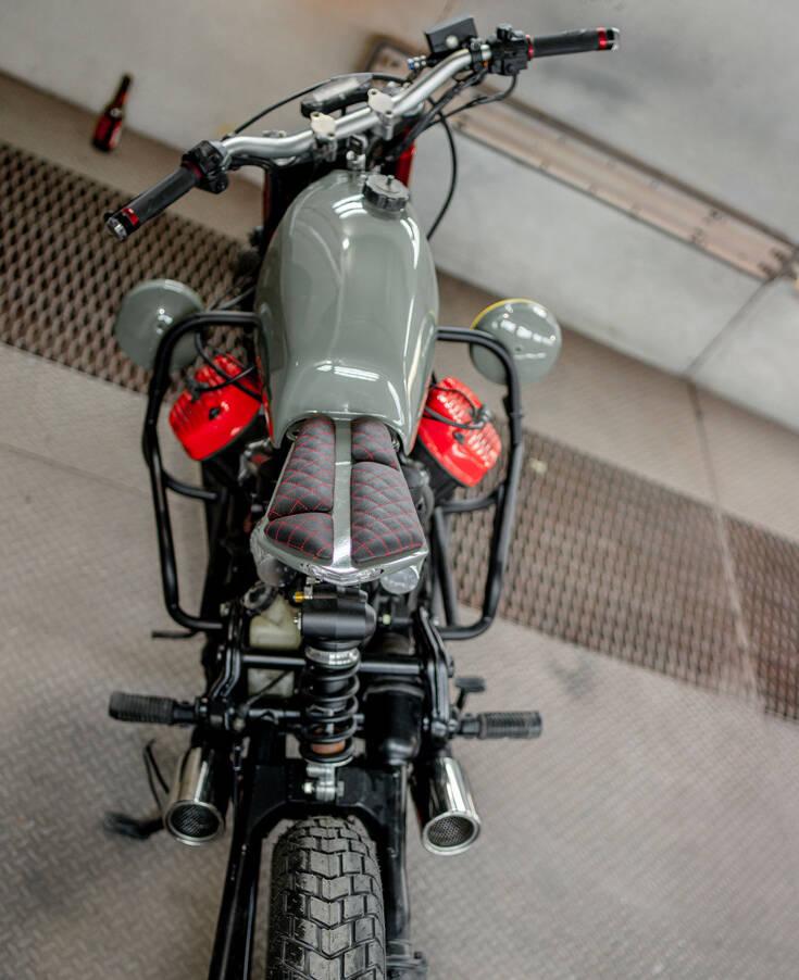 Δείτε πώς μεταμορφώθηκε ένα Honda CX500 – Newsbeast