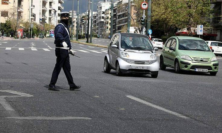 Απαγόρευση κυκλοφορίας: Πάνω από 500 πρόστιμα για άσκοπες μετακινήσεις