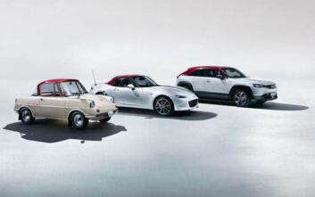 Η Mazda παρουσιάζει επετειακές εκδόσεις σε κάθε μοντέλο της
