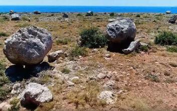 Οι μυστηριώδεις κυκλώπειοι βράχοι στην άκρη της Ελλάδας