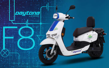 Daytona F8 Deliroad η ηλεκτρική πρόταση της DAYTONA BEST ELECTRIC στα επαγγελματικά scooters