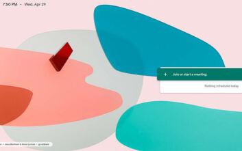 Η Google προσφέρει δωρεάν την εφαρμογή βιντεοδιασκέψεων Google Meet λόγω κορονοϊού