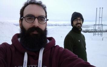 Τα δύο αδέλφια από τη Λάρισα που εργάστηκαν για το διάστημα από τα δύο παγωμένα άκρα του κόσμου