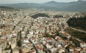 Η Λαμία από ψηλά την Κυριακή του Πάσχα, έμοιαζε με νεκρή πόλη