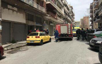 Θεσσαλονίκη: Φωτιά σε διαμέρισμα στην περιοχή των Δικαστηρίων