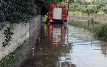 Καιρός: Μεγάλες ζημιές από πλημμύρες σε Εύβοια, Βοιωτία και Φθιώτιδα