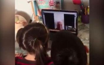 «Παππού μας έλειψες»: Το συγκινητικό βίντεο από το Χαμόγελο του Παιδιού για τον κορονοϊό
