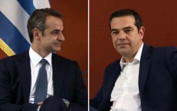 Δημοσκόπηση ΣΚΑΪ: Στις 23 μονάδες η διαφορά ΝΔ - ΣΥΡΙΖΑ εν μέσω κορονοϊού