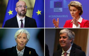 Τηλεδιάσκεψη με το βλέμμα στραμμένο στον κορονοϊό ενόψει του αυριανού Eurogroup