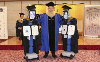 Κορονοϊός: Ορκωμοσία φοιτητών στην Ιαπωνία μέσω ρομπότ