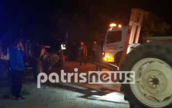 Πύργος: Δύο σοβαρά ατυχήματα μέσα σε λίγες ώρες