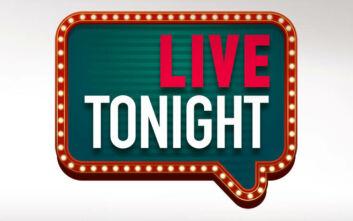 Live Tonight: Πρεμιέρα απόψε για τη νέα εκπομπή του Γρηγόρη Αρναούτογλου