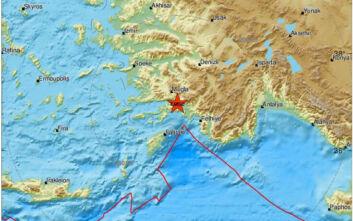 Σεισμός στην Τουρκία - Αισθητός και στην Ρόδο