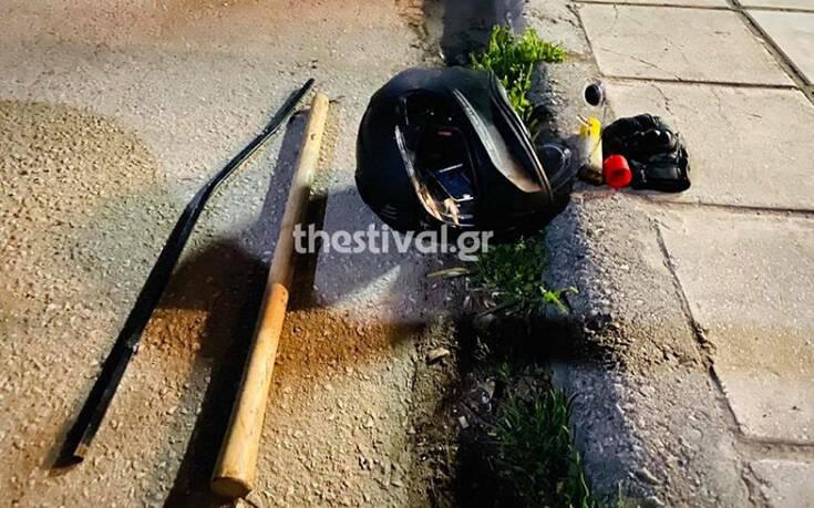 Ταυτοποιήθηκαν δύο άτομα για την άγρια επίθεση οπαδών στη Θεσσαλονίκη