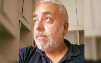 Έφυγε ξαφνικά από τη ζωή, σε ηλικία 54 ετών ο δημοσιογράφος Ρίζος Ψύλλος