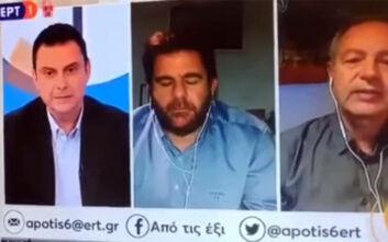Παρουσιαστής της ΕΡΤ νύσταξε υπερβολικά στον «αέρα» της εκπομπής του