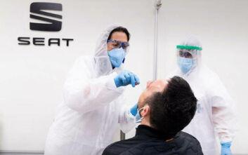 Η SEAT θα διενεργήσει PCR τεστ στους 15.000 υπαλλήλους της